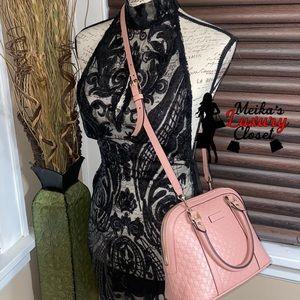 Brand new pink gg guccissima crossbody bag